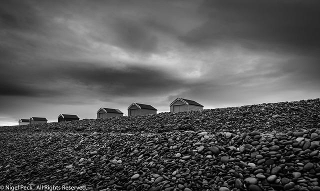 Beach Huts @ Findhorn Beach