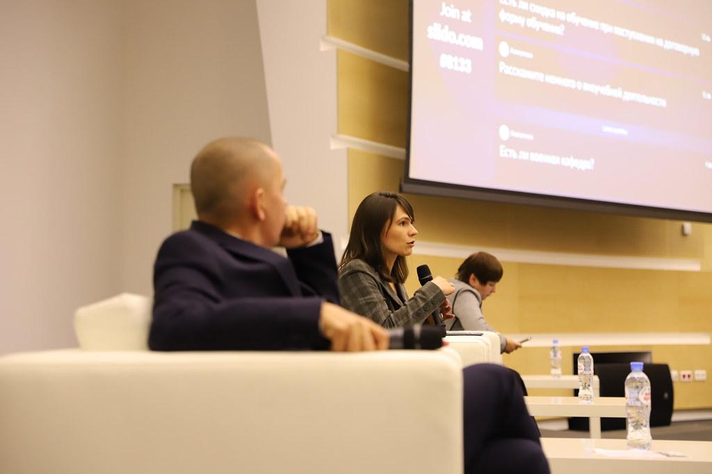 2 ноября состоялся День открытых дверей программ бакалавриата по направлениям: «Менеджмент», «Международный менеджмент» и «Государственное и муниципальное управление»
