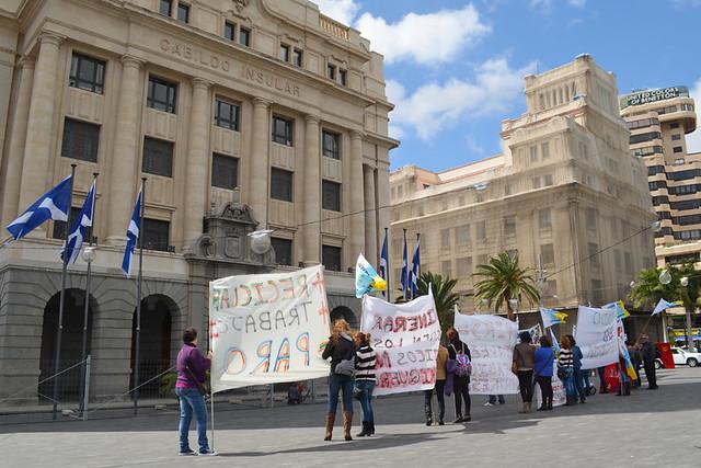Political Protest, Santa Cruz, Tenerife