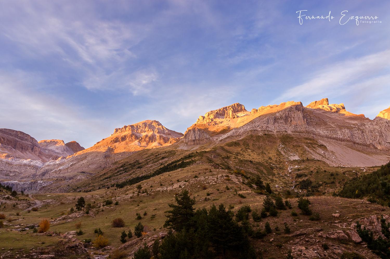 Atardecer desde Val d'Igüerre (Valle de Aisa)