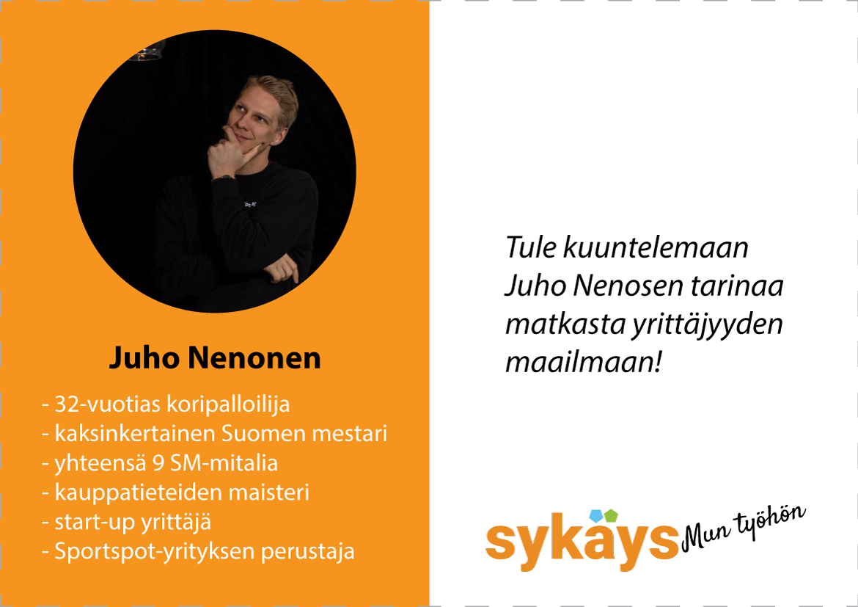 sykays_mun_tyohon_juho_mainos_blogi