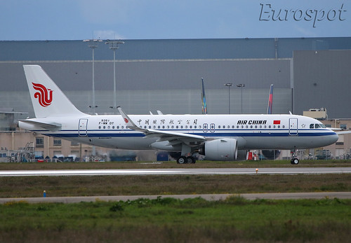 F-WWDT Airbus A320 Neo Air China | by @Eurospot