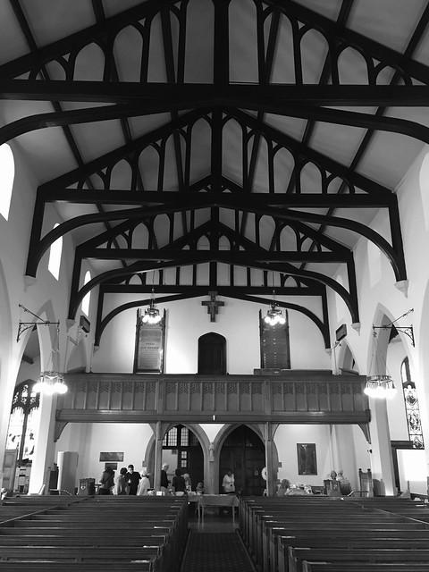 St Cuthbert's, Lytham (y tu mewn / inside)