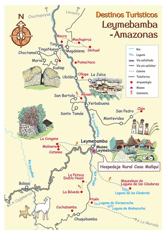 Leymebamba Map