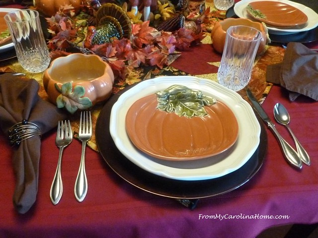 November Tablescape at FromMyCarolinaHome.com