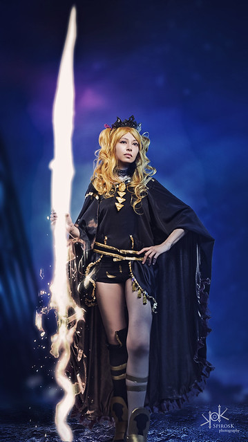 Galini as Ereshkigal from Fate Grand Order by SpirosK photography