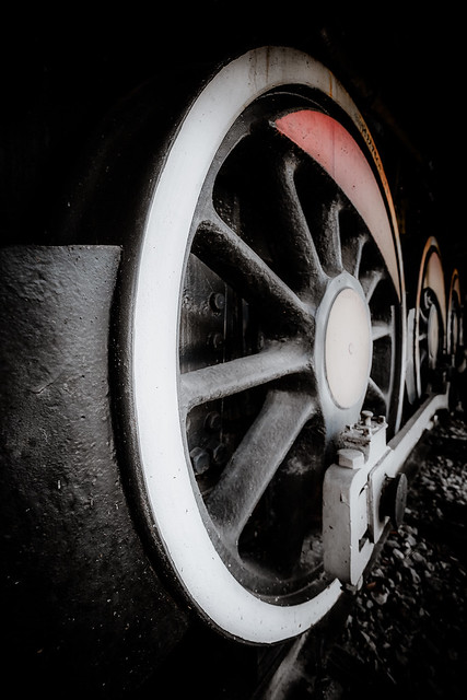 Wheels with a touch of  red