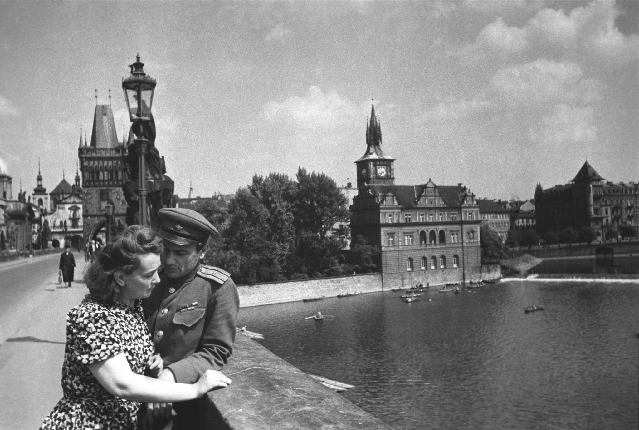 1945. Романтика конца войны, Прага