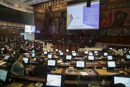 CONTINUACIÓN DE LA SESIÓN NO. 628 DEL PLENO DE LA ASAMBLEA NACIONAL, QUITO, 07 DE NOVIEMBRE 2019.