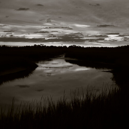 sunrise baldheadisland reflections pentax k1 lensbaby velvet iridientdeveloper