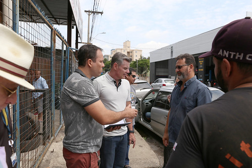 Visita técnica para verificar a possibilidade de instalação de boca de lobo na Rua José do Carmo Oliveira - Comissão de Meio Ambiente e Política Urbana