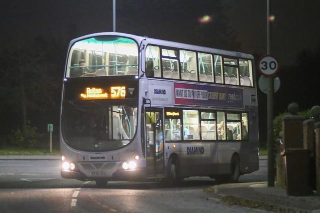 Diamond Bus North West Wright Eclipse Gemini Volvo B9TL 37445 MX58 DZU