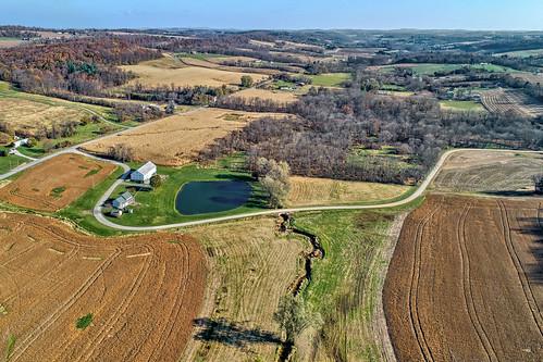 seven valleys pa pennsylvania aerial view drone york county