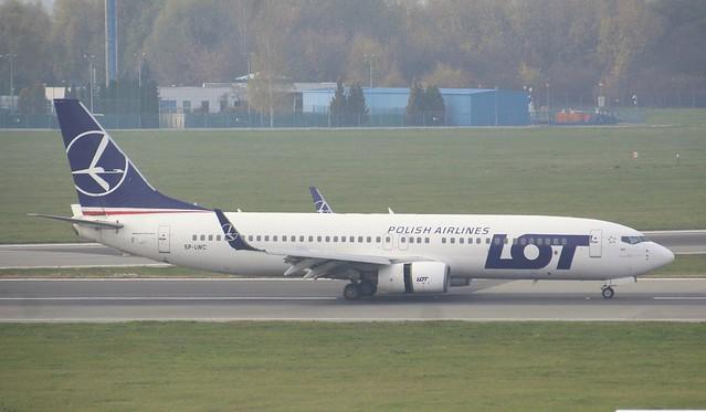 LOT Polish Airlines, SP-LWC, MSN 30691, Boenig 737-89P, 30.10.2019,  WAW-EPWA, Warszawa