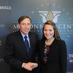 Director David Petraeus Visits the McConnell Center