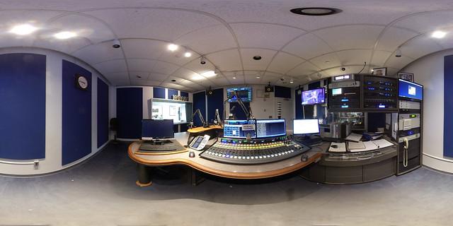WRHU Radio Studio