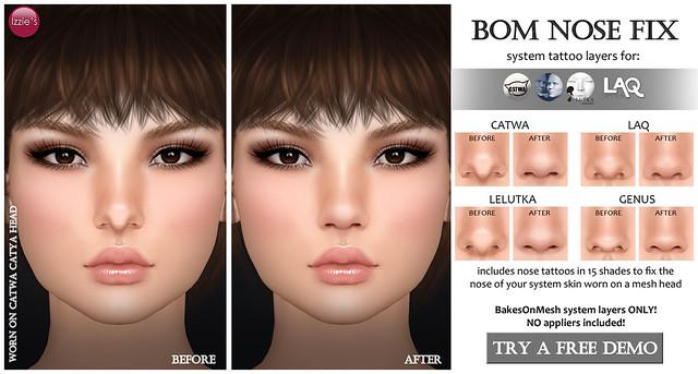 BOM Nose Fix