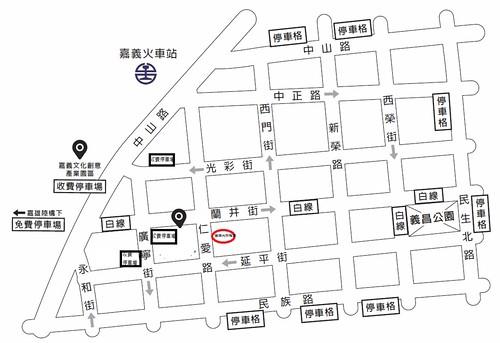 停車場位置圖
