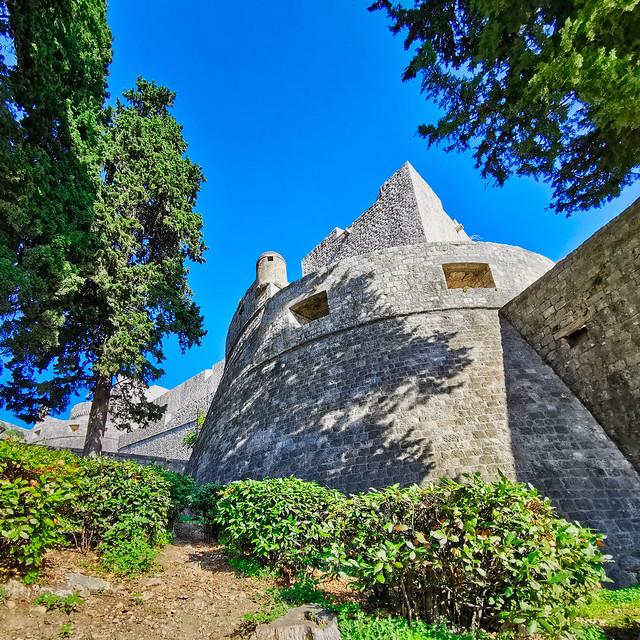 Kroatien - Dubrovnik, Stadtmauer
