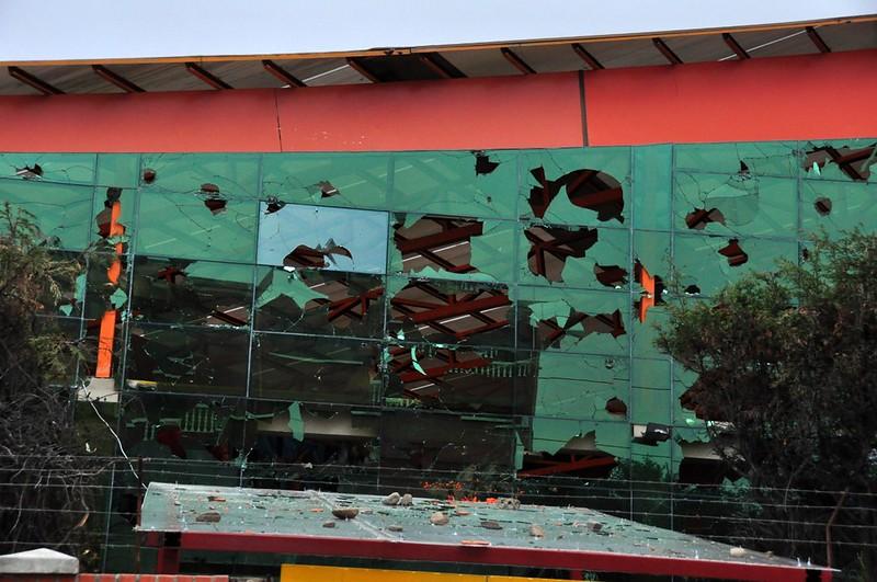 Ataque a la infraestructura de la alcaldía de El Alto