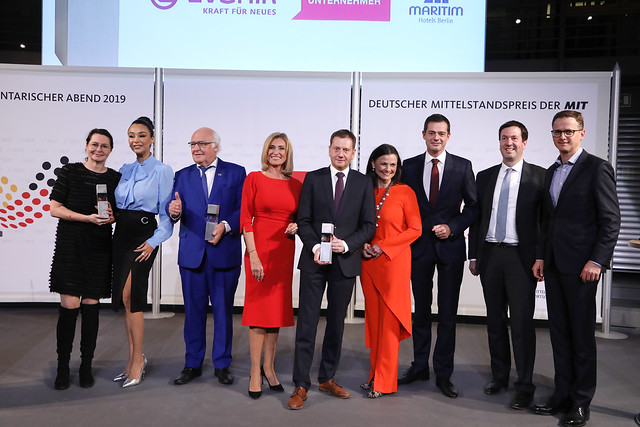 Deutscher Mittelstandspreis und Parlamentarischer Abend der MIT 2019