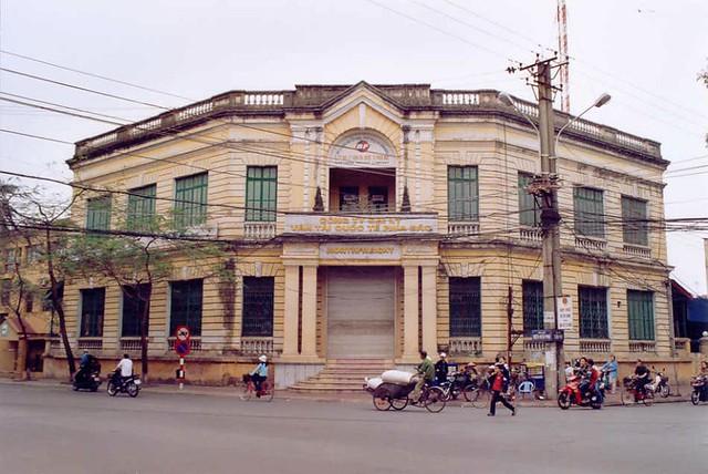 HAI PHONG - L'ancien bâtiments des
