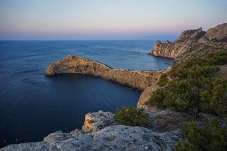 Crimea New world Cape Kapchik