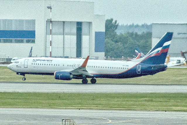 VP-BMD | Aeroflot Airlines | Boeing B737-8MC(WL) | CN 44443 | Built 2017 | SVO/UUEE 14/06/2019