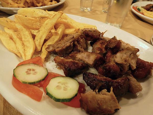 la viande de Nikos