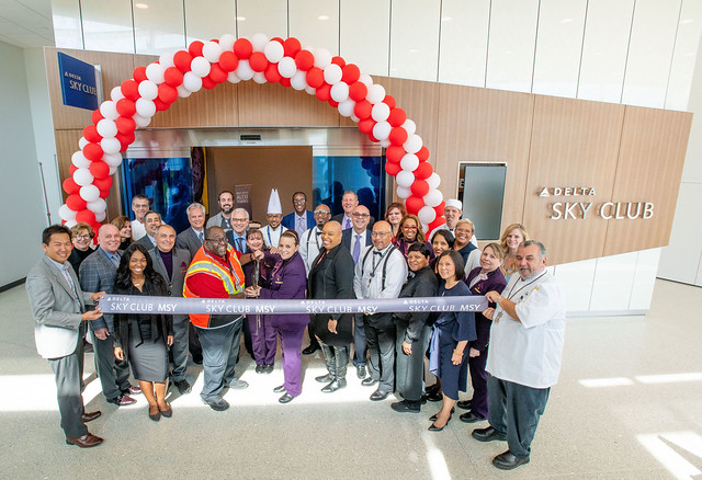 Grand Opening of New Orleans Delta Sky Club