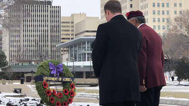 National Aboriginal Veterans Day: Minister Wilson