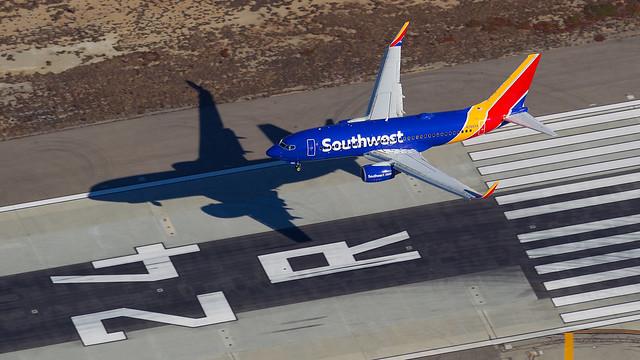 Southwest 737-700.