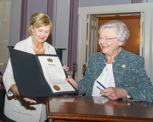 110719 DHR Proclamation Signing