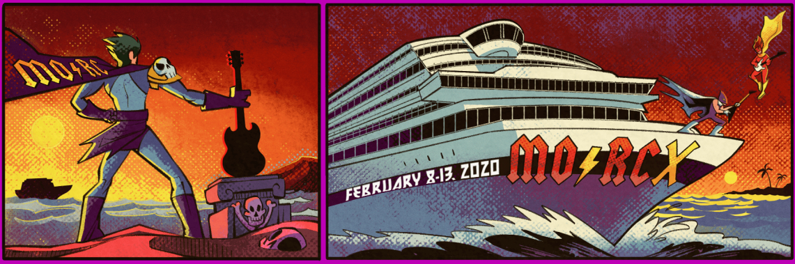 Todo listo para la décima edición del Monsters of Rock Cruise