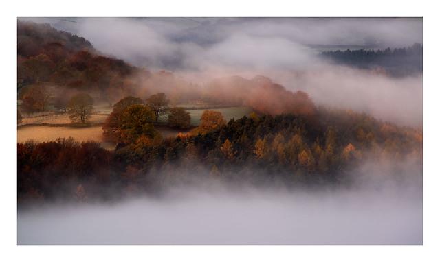 Sheriff Wood, Grindleford, Peak District UK. Yesterday mornings sunrise. Thanks for looking.