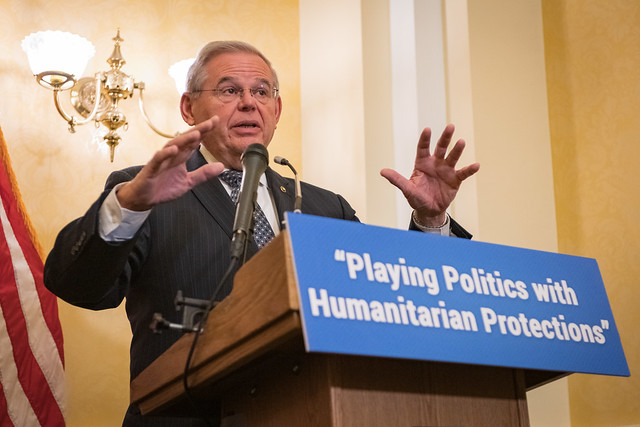 Menendez Releases Report Detailing How the Trump Administration Knowingly Endangered TPS recipients and their Families for Political Gain
