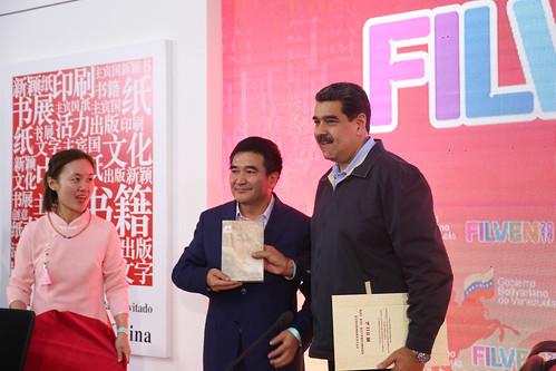 Presidente Maduro inaugura XV Feria Internacional del Libro
