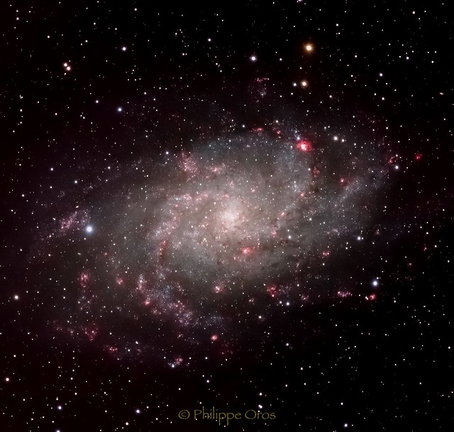 M33 Galaxie du Triangle