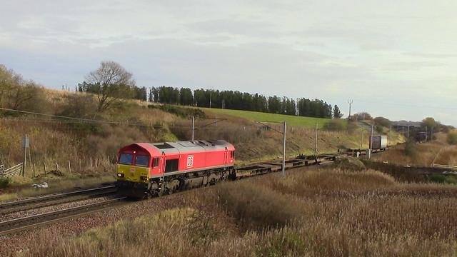 66070 4S99 at Cartland 6/11/19