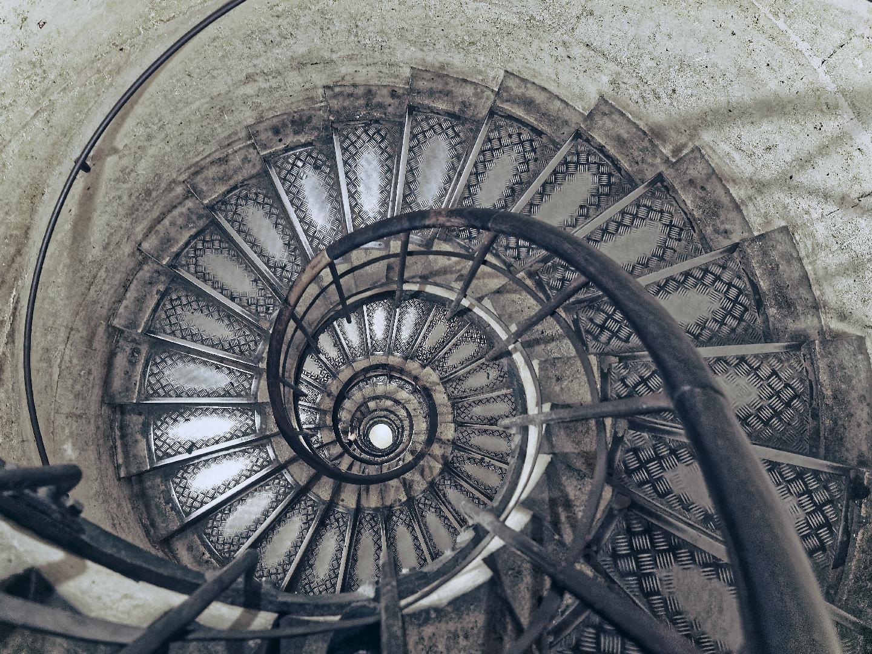 Escalier tire-bouchon