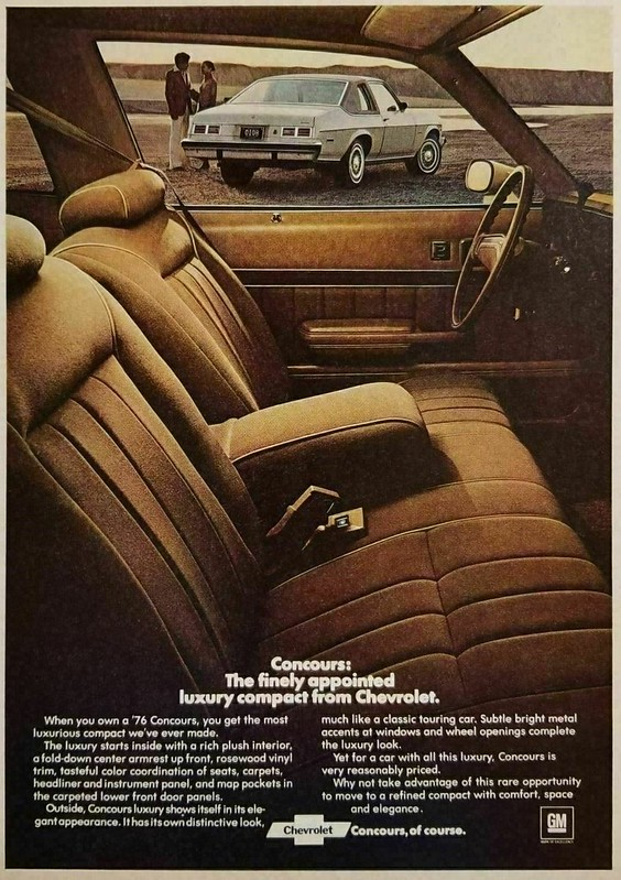 1976 Chevrolet Concours