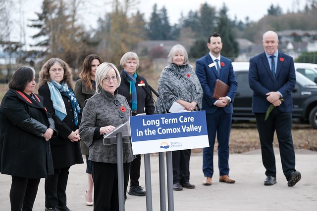 More long-term care support for people in the Comox Valley