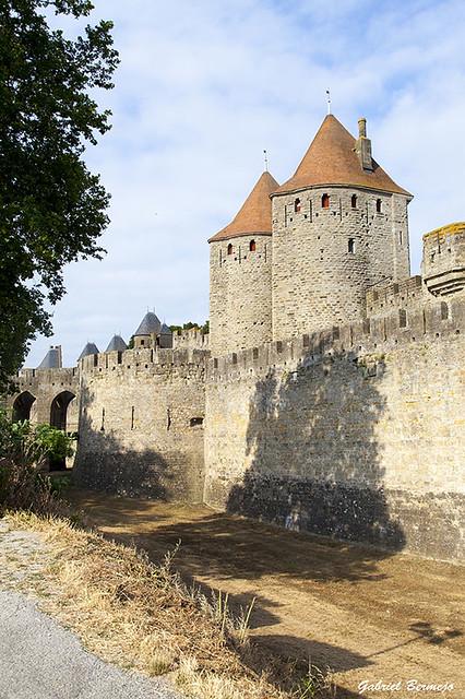 Las murallas de Carcassonne