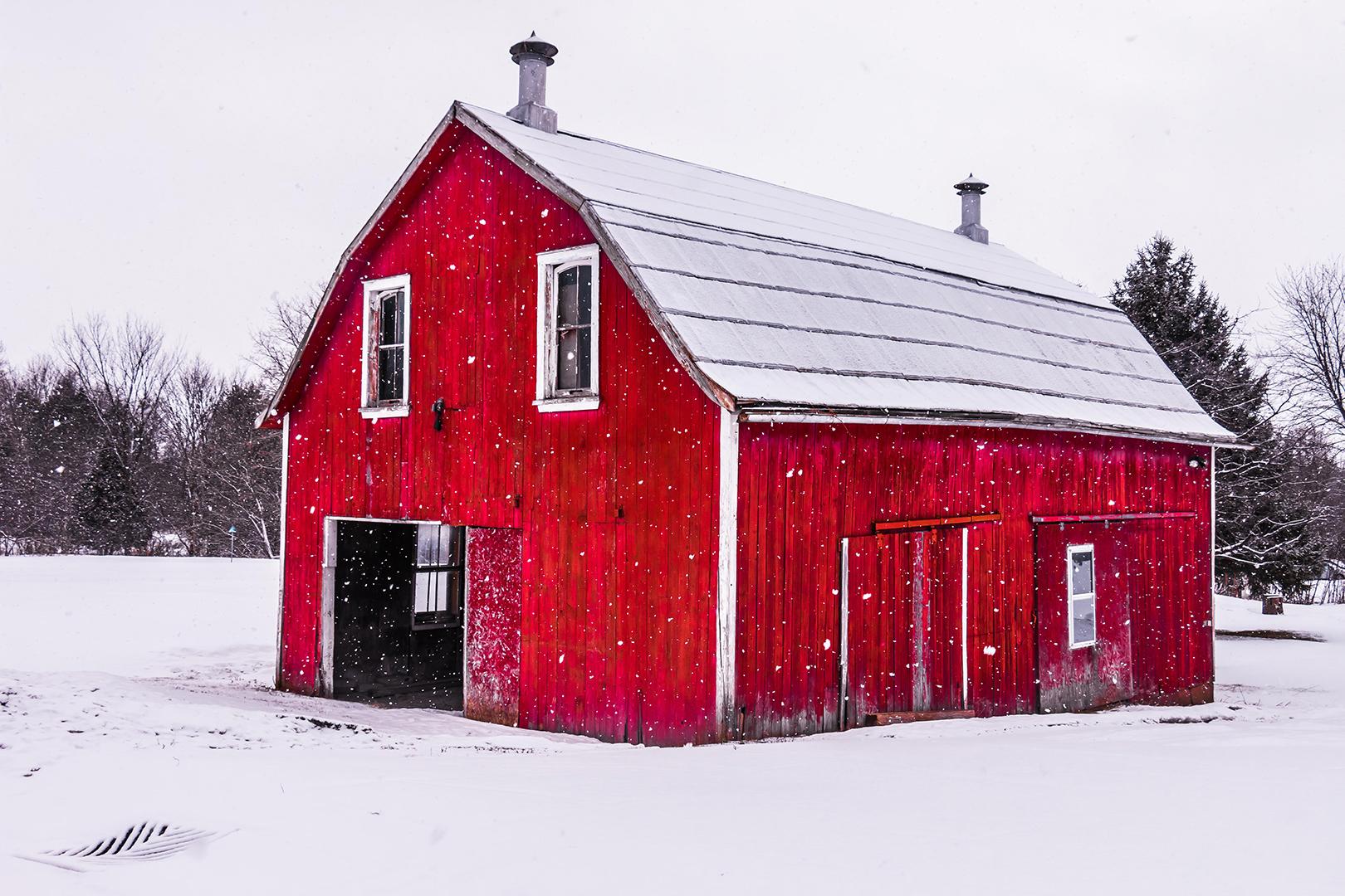 Grange rouge
