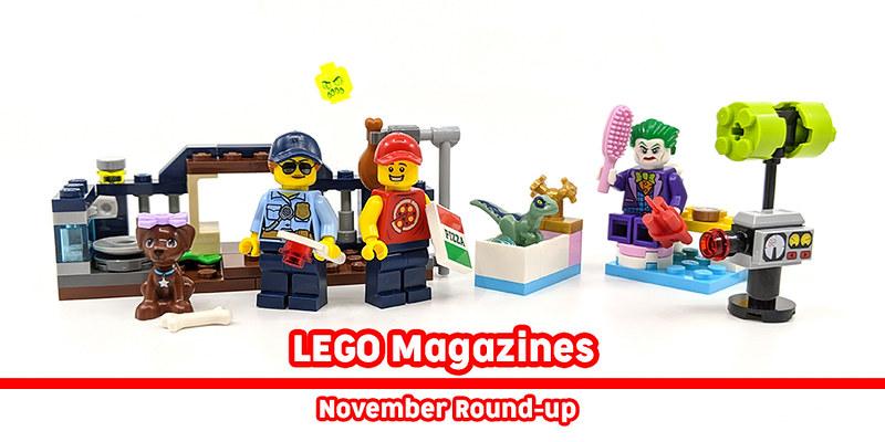 LEGO Magazines November 2019