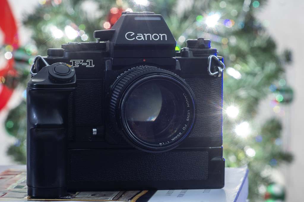 Camera Review Blog No. 115 - Canon F-1N