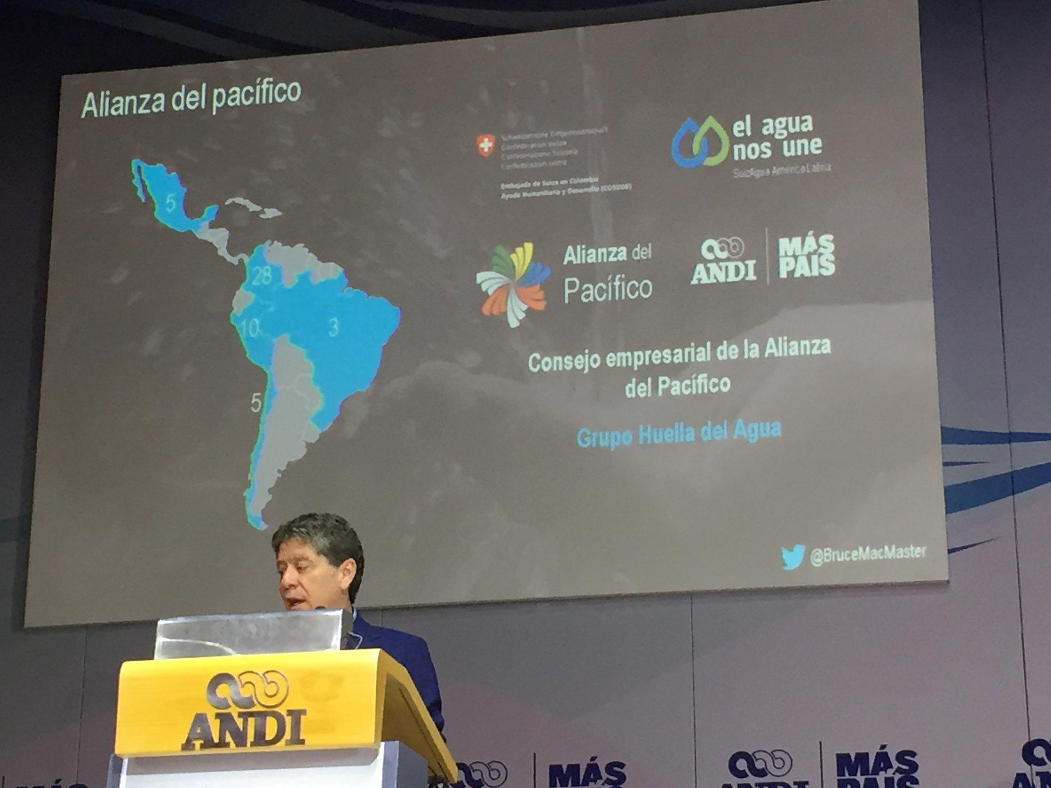 2019.10.18 Evento El Agua nos Une en Colombia