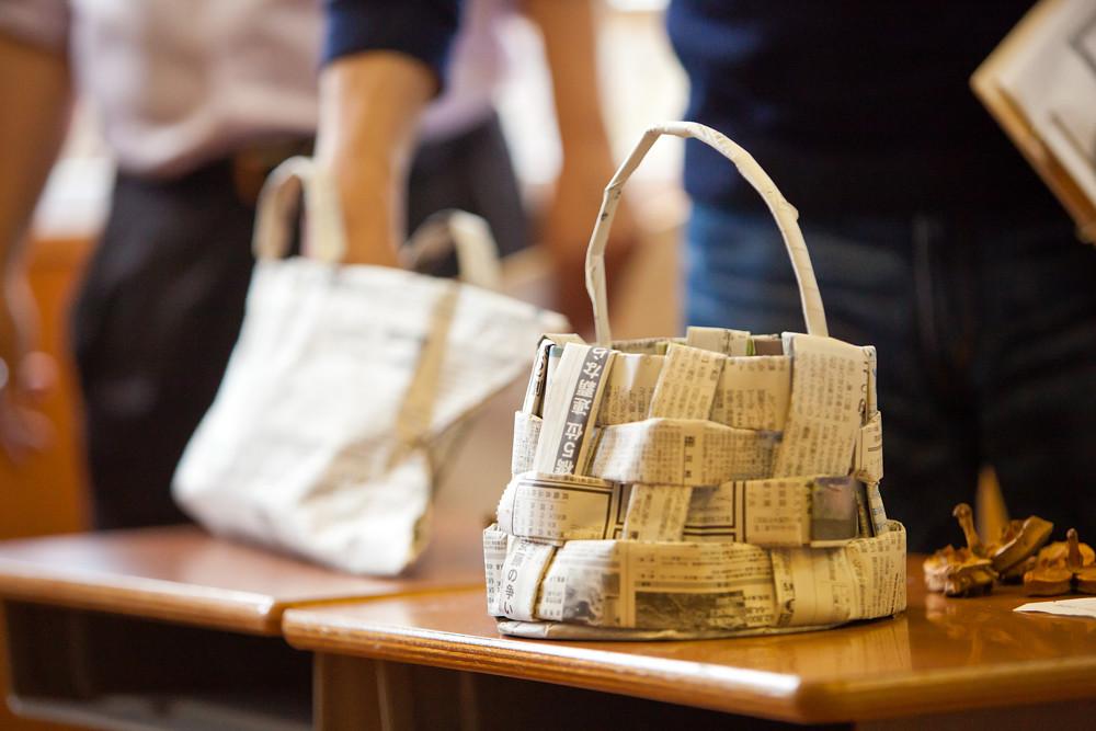 四萬十報紙袋