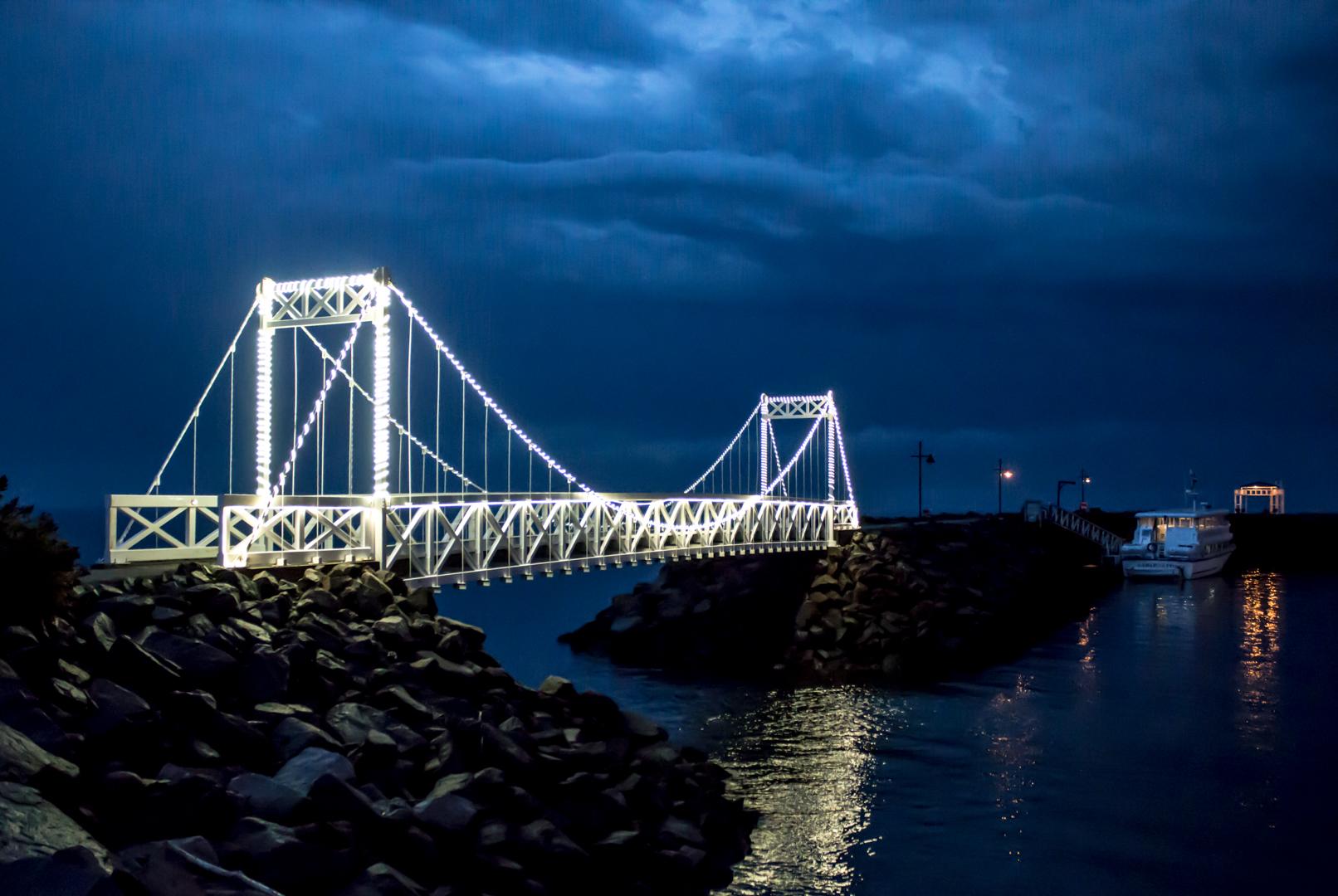 Pont de lumière