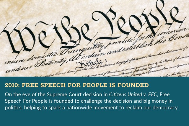 Free Speech For People Celebrates 10 Years of Fighting for Our Democracy